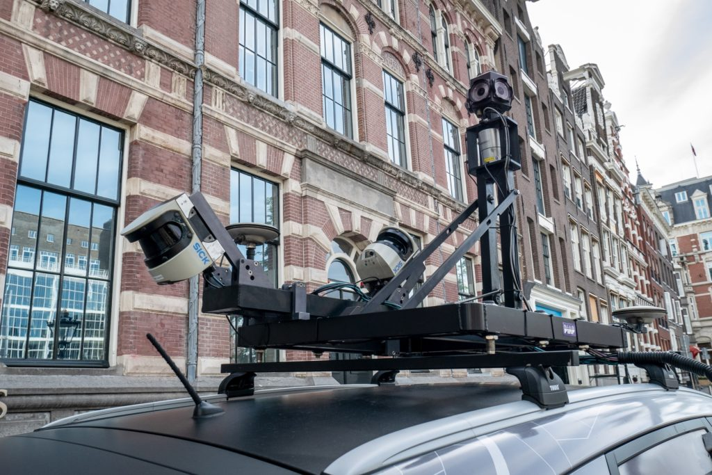 TomTom Mobile Mapping-auto