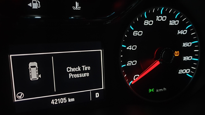 De Audi-bestuurder zag een vergelijkbare melding in zijn display.