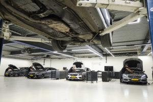 De werkplaats van: Mercedes-Benz Den Haag