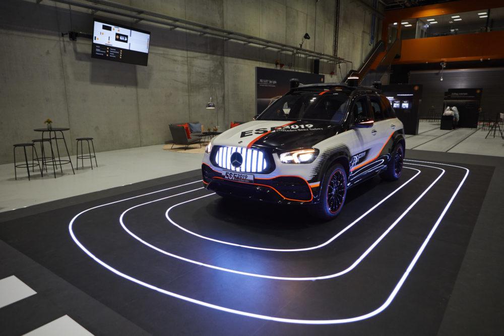 Mercedes toont nieuwste veiligheidstechniek in ESF 2019