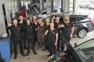 Trots op het vak: Team Carprof Valentijn
