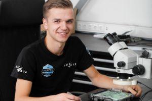 Trots op het vak: Johan Berkhout, diagnosetechnicus