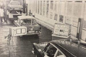 Diagnoseteststraat van de toekomst (in 1969)