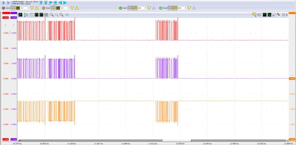 Met de R2-verbindingsstekker los herstelt het K-CAN2-netwerk zich direct.